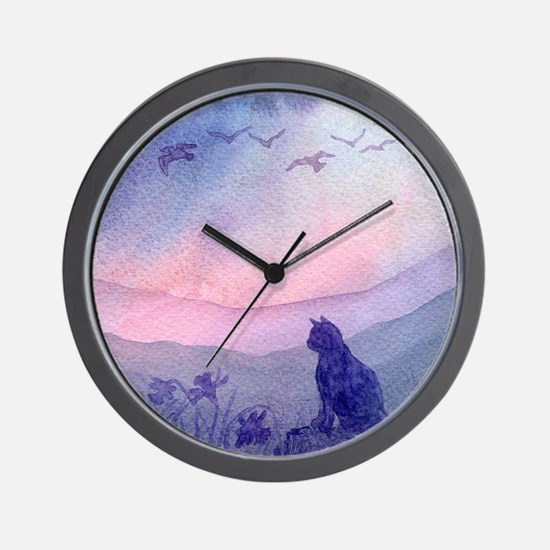 cats 2 spring promise Wall Clock
