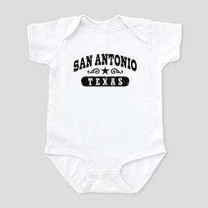 San Antonio Texas Infant Bodysuit