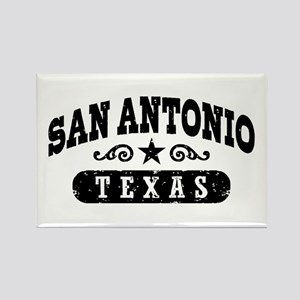 San Antonio Texas Rectangle Magnet