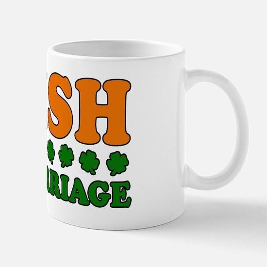 Irish by Marriage Tricolor Mug