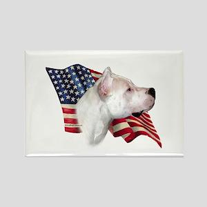 Dogo Flag Rectangle Magnet