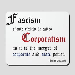 fascismT Mousepad