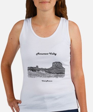 B@W Monument Valley Women's Tank Top