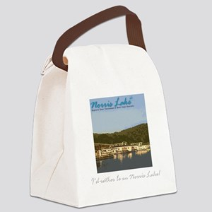 Rather Be Canvas Lunch Bag