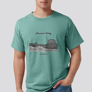 B@W Monument Valley Mens Comfort Colors Shirt