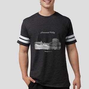 B@W Monument Valley Mens Football Shirt