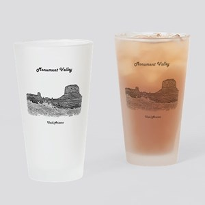 B@W Monument Valley Drinking Glass