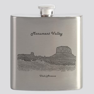 B@W Monument Valley Flask