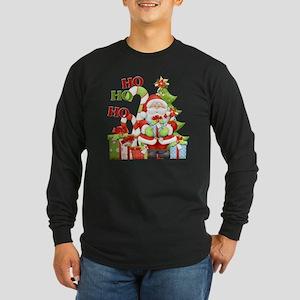 ho ho ho copy Long Sleeve Dark T-Shirt