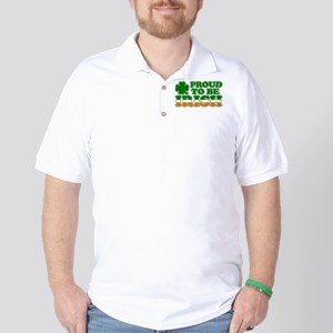 Proud to Be Irish Tricolor Golf Shirt
