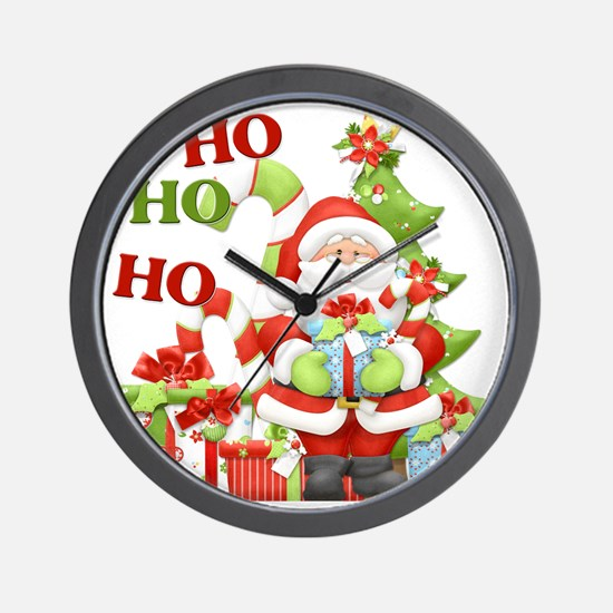 ho ho ho copy Wall Clock