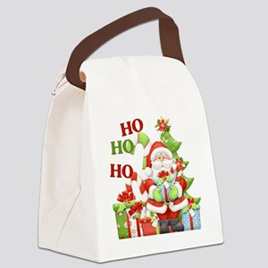 ho ho ho copy Canvas Lunch Bag