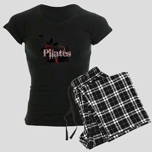 pilates organic 1 black copy Women's Dark Pajamas