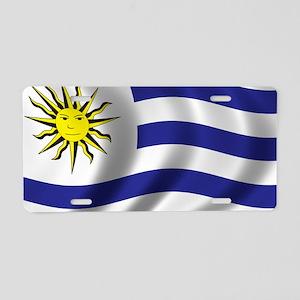 uruguay_flag Aluminum License Plate