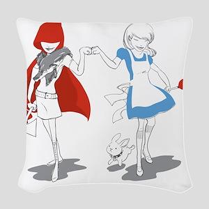 FistBump Woven Throw Pillow
