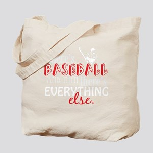 baseball then eleverything else_dark Tote Bag