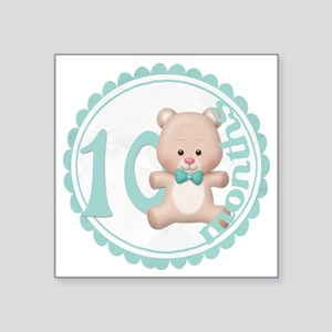 "bear-10 copy Square Sticker 3"" x 3"""