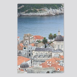 Dubrovnik. Overview of th Postcards (Package of 8)