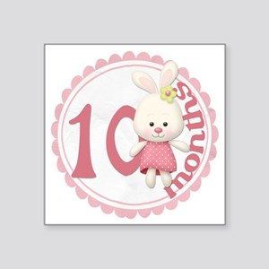 "bunny-10 copy Square Sticker 3"" x 3"""