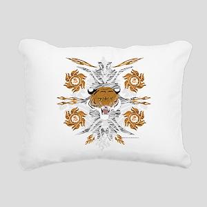 Tiger Dragon Rectangular Canvas Pillow