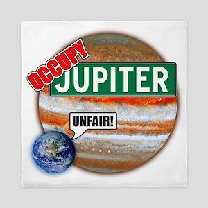 planets-large Queen Duvet