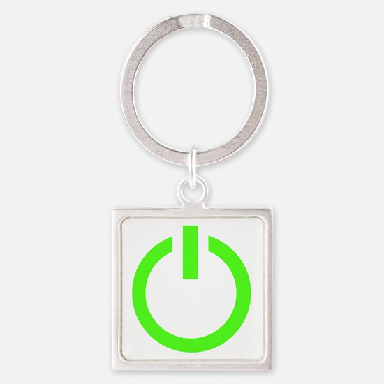 geekPowerA6 Square Keychain
