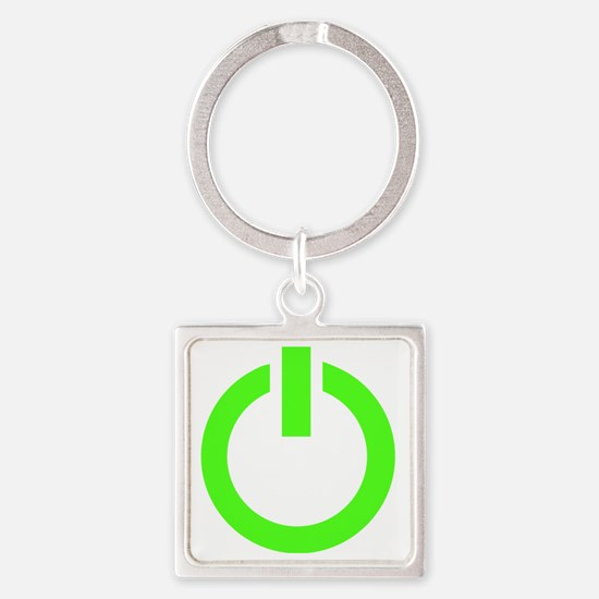 geekPowerA7 Square Keychain
