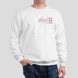 ER EKG Sweatshirt
