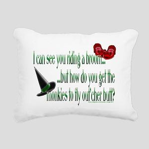 monkies Rectangular Canvas Pillow