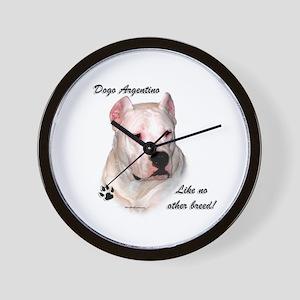 Dogo Breed Wall Clock