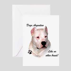 Dogo Breed Greeting Cards (Pk of 10)