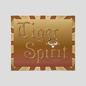 Tiger Spirit17 Throw Blanket