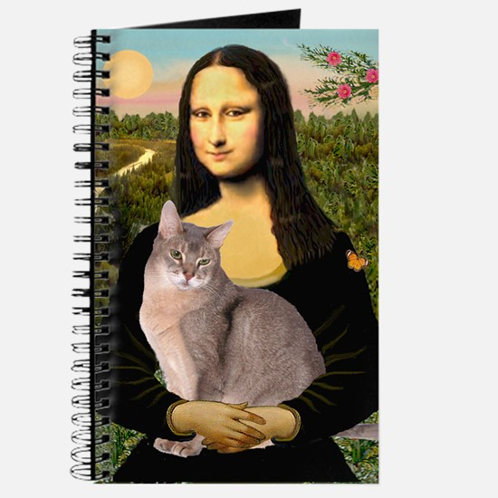 Mona & her Blue Abbyssinian Journal