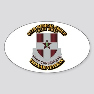 DUI - 67th Medical Group Sticker (Oval)