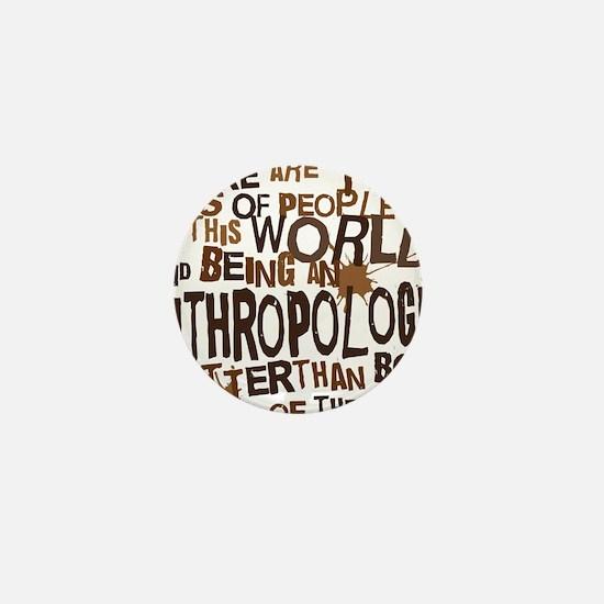 anthropologist_two_brown Mini Button