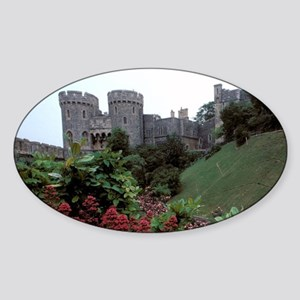Europe, England, Windsor. Windsor C Sticker (Oval)