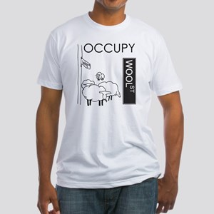 occupywoolst Fitted T-Shirt