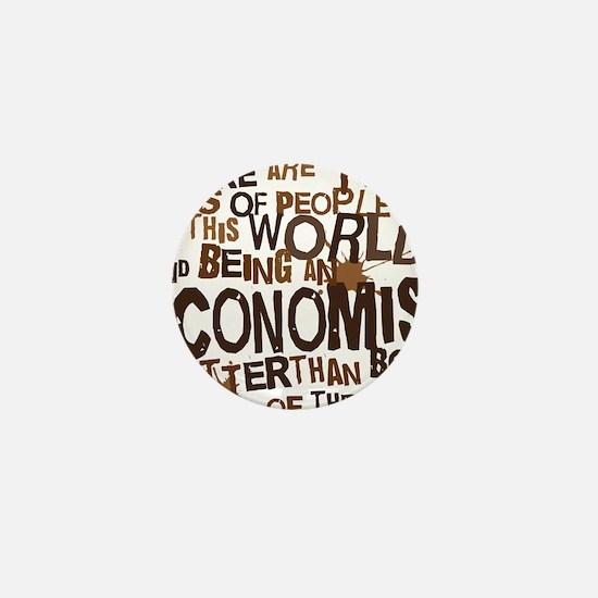 economist_two_brown Mini Button