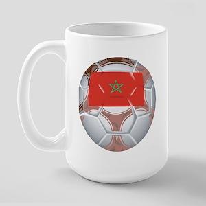 Morocco Soccer Large Mug