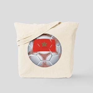 Morocco Soccer Tote Bag