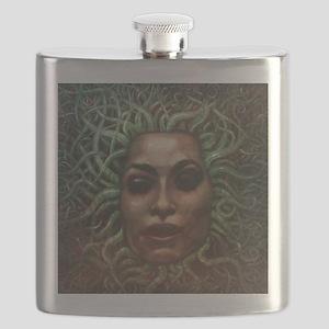 Medusa Face Flask