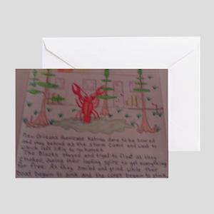 Fema trailer humor Greeting Card