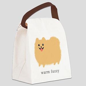 warmfuzzybottleCP Canvas Lunch Bag