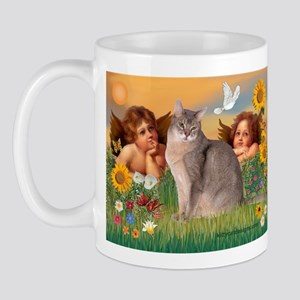 Angels & Blue Abbysinian Mug