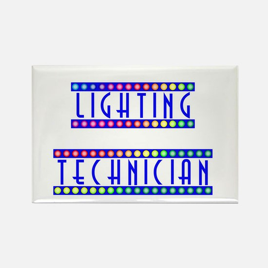 Lighting Technician Rectangle Magnet