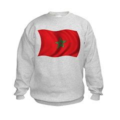 Wavy Morocco Flag Sweatshirt