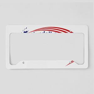 logo 2 License Plate Holder