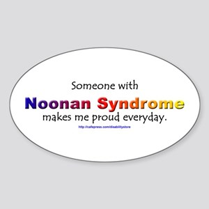 Noonan Pride Oval Sticker