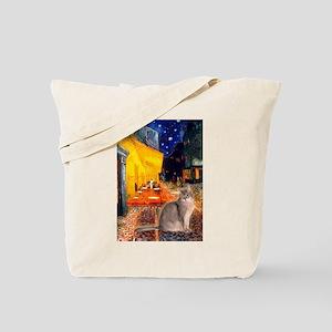 Cafe & Blue Abbysinian Tote Bag