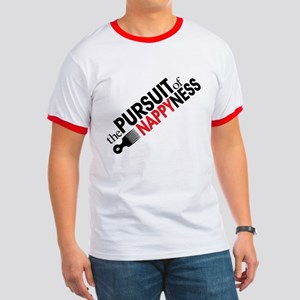 pursuit of NAPPYness red Ringer T